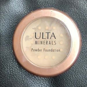Ulta beauty minerals powder foundation
